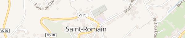 Karte Schule St-Romain