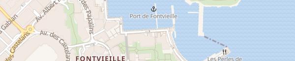 Karte Quai Jean-Charles Rey Monaco