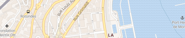 Karte Rue Louis Notari Monaco