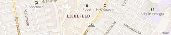 Karte Landhaus Liebefeld Liebefeld