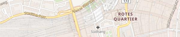 Karte PostParc Bern