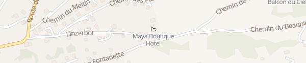 Karte Maya Boutique Hotel Nax