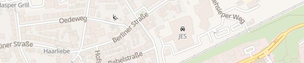 Karte Mercedes Jürgens Westseite Hagen