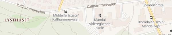 Karte Videregående Skole Mandal