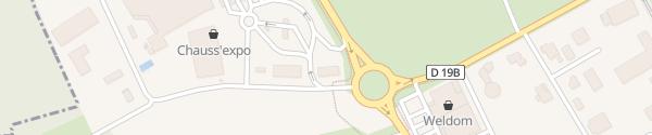 Karte McDonalds's Sierentz