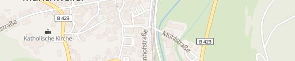 Karte Bahnhof Glan-Münchweiler