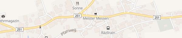 Karte Restaurant zum Löwen Messen