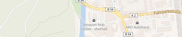 Karte Westfalen-Tankstelle Hagen