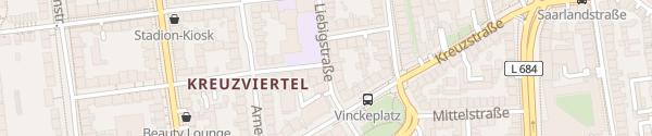 Karte Essener Straße Dortmund