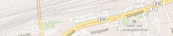 Karte Hauptbahnhof Dortmund