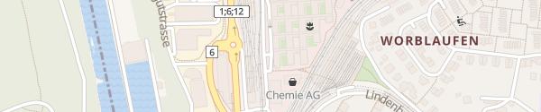 Karte Swisscom AG Worblaufen