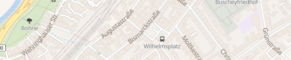 Karte Wilhelmsplatz Hagen