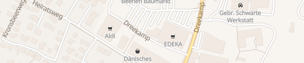 Karte EWE Kundencenter Aurich