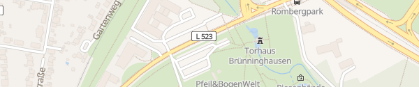 Karte Am Rombergpark Dortmund
