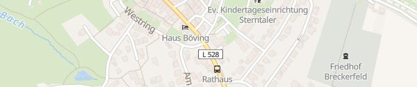 Karte Rathaus Breckerfeld