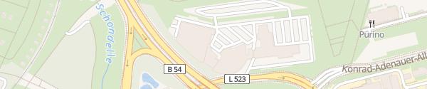 Karte BMW Niederlassung Dortmund