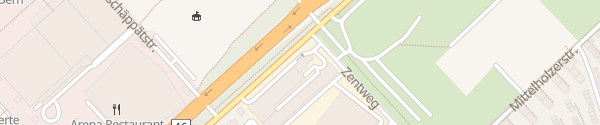 Karte Tesla Service Center Bern