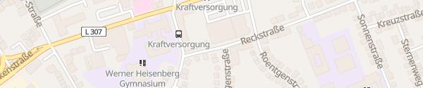 Karte SÜWAG ServiceCenter Neuwied