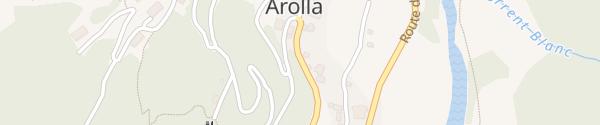 Karte Arolla Evolène