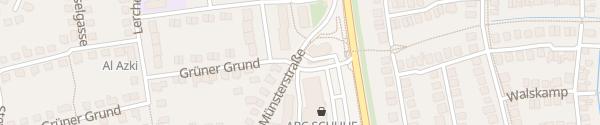 Karte Westfalen Tankstelle Senden