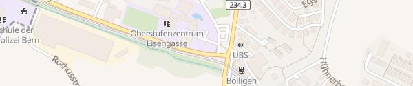 Karte Bahnhof Bolligen