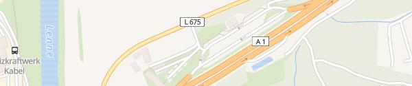 Karte Lennhof West Hagen