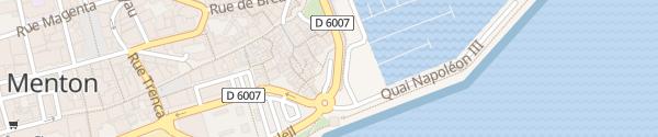 Karte Parking Vieille Ville Menton