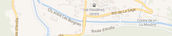 Karte Restaurant La Cordée Les Haudères