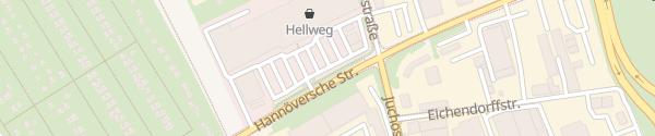 Karte Hellweg Dortmund-Wambel Dortmund