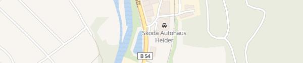 Karte Skodă Autohaus Heider Hagen