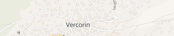 Karte Route de l'Eglise Vercorin