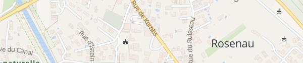 Karte Mairie Rosenau
