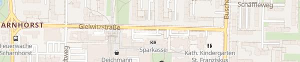 Karte Gleiwitzstraße Dortmund