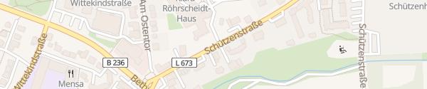 Karte Marienkrankenhaus Schwerte