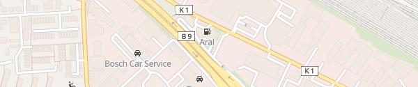 Karte Aral Andernacher Straße Koblenz