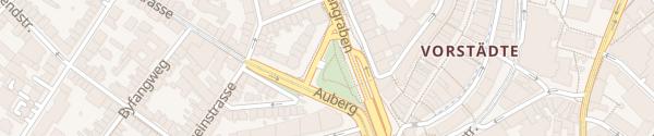 Karte Parkhaus Steinen Basel