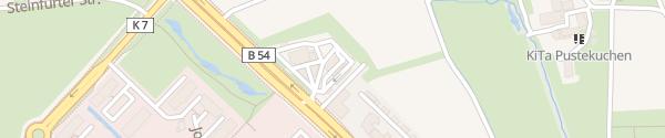 Karte Westfalen Tankstelle Münster