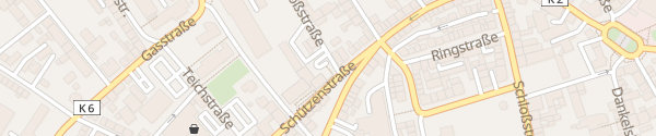 Karte CityStar Jugendherberge Pirmasens