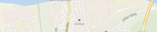 Karte Globus Lahnstein