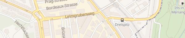 Karte Wintraxis Basel