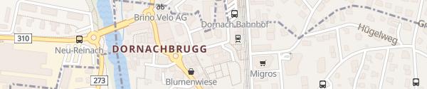 Karte Bahnhof Dornach