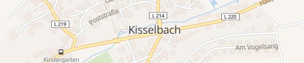 Karte Hauptstraße Kisselbach