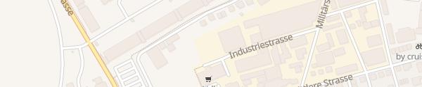 Karte Betriebsgebäude Energie Thun AG Thun
