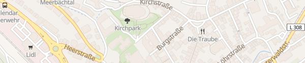 Karte D'Esterstraße Vallendar