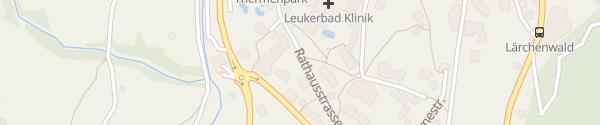 Karte Destination Charger Hotel Walliserhof Leukerbad