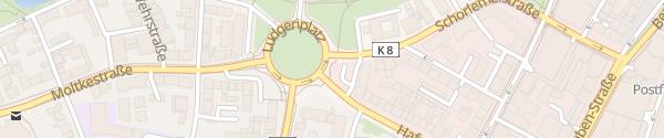 Karte Ludgeriplatz Münster