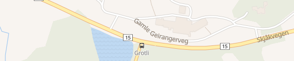 Karte Grotli Hoyfjellshotel Grotli