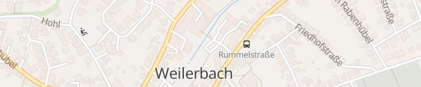 Karte Gemeindeverwaltung Weilerbach