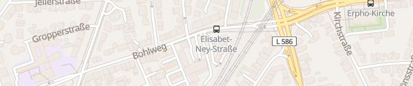Karte Westfalen Tankstelle Bohlweg Münster