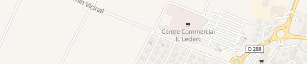 Karte Leclerc Erstein